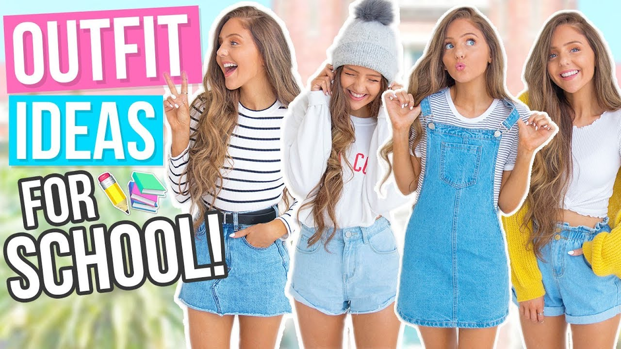 95344f37d5 OUTFIT IDEAS FOR SCHOOL 2017! Comfy & Cute Back To School Outfits ...