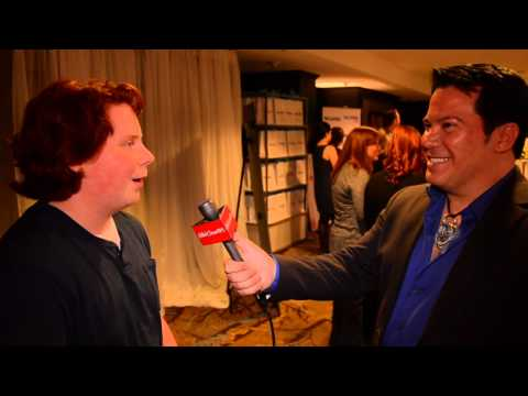 At the 2013 GBK Gift Lounge 'ParaNorman' Actor Tucker Albrizzi Gives Tips On His Cool Style