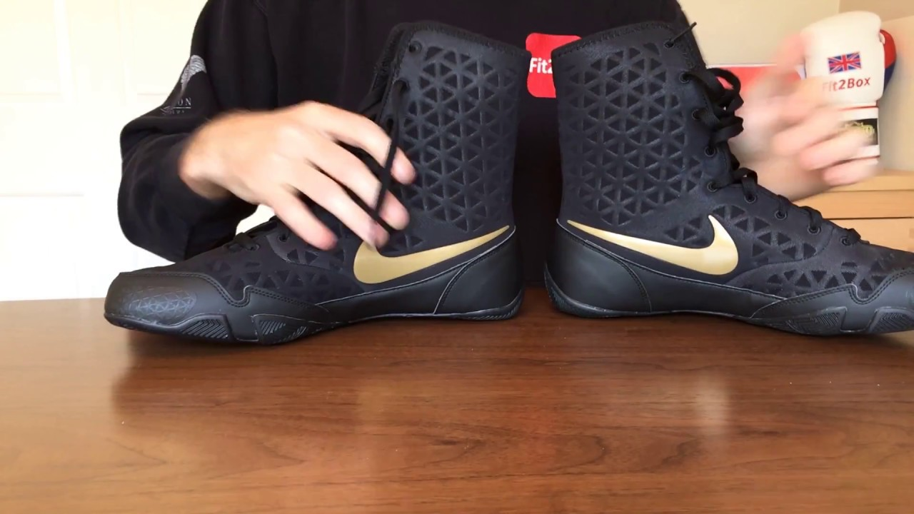 183177e4d3996 NEW NIKE KO BOXING BOOTS REVIEW