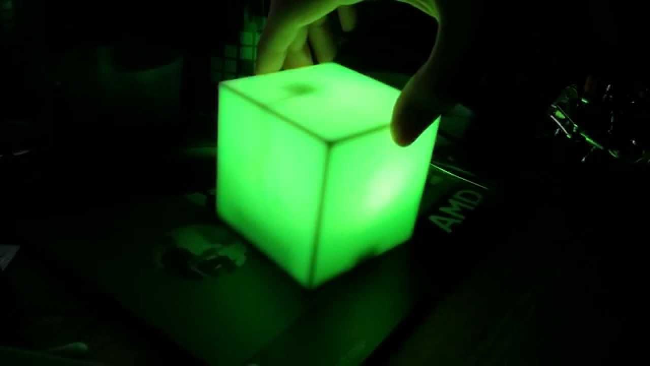 chameleoncube - kompassgesteuerter leuchtwürfel - youtube