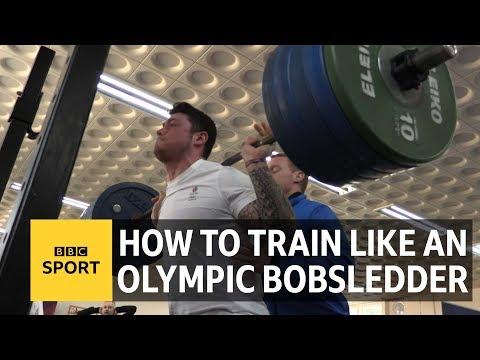 Winter Olympics: How to train like a Team GB bobsledder - BBC Sport