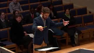 Joe Tobin BBC Singers Rehearsal Extract