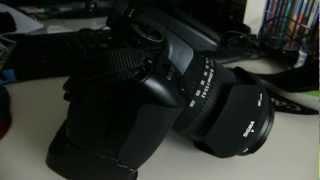 Firstlook Canon 400d [First video !]