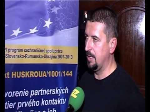 TV Zemplin: Study workshop of the Slovakia 07 - 09.11.2012_part.1