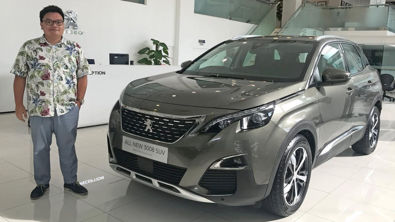 2017 Peugeot 3008 SUV in Malaysia - 1 6 litre turbo engine