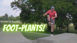 5 EASY Foot Plant Tricks