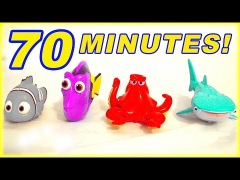 1 HOUR 70 Minutes Finding Dory Marvel Superhero Paw Patrol Blaze Toys Surprise Eggs Kids Children