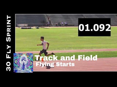 30 Meter Flying Start Sprint - Kihei Charter Track And Field