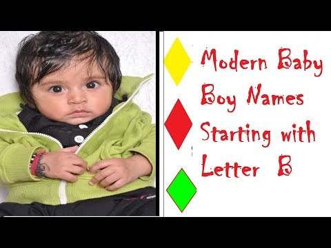 Modern Indian Baby Boys Names With Letter  B