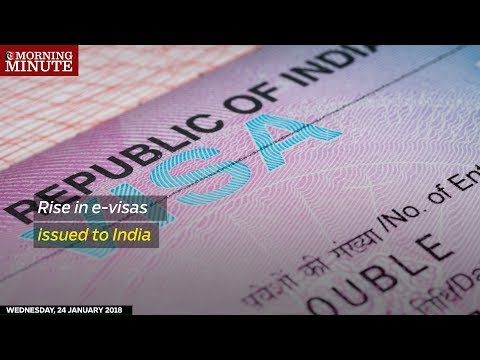 Rise in e-visas issued to India