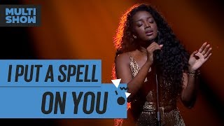 I Put A Spell On You | Iza | Música Boa Ao Vivo | Música Multishow