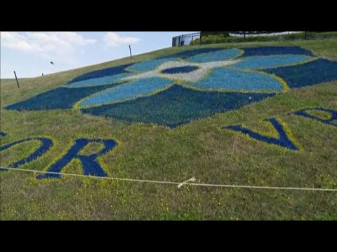 Virginia Beach Shooting Memorial Painted On Side Of Mount Trashmore