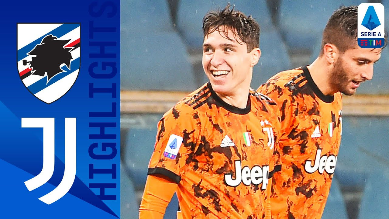 Sampdoria 0-2 Juventus | Chiesa and Ramsey On Target For Juve | Serie A TIM