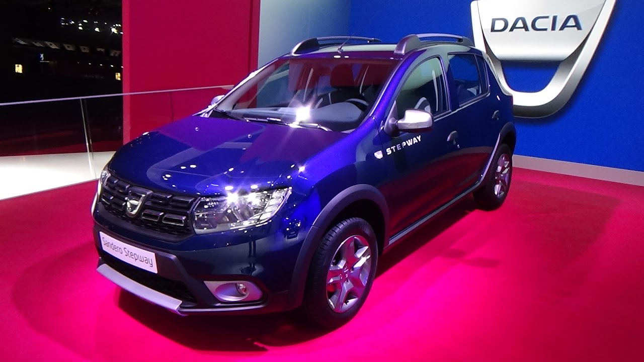 2017 dacia sandero stepway easy r exterior and interior paris auto show 2016 youtube. Black Bedroom Furniture Sets. Home Design Ideas
