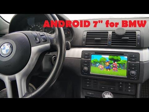 BMW E46 Магнитола андроид. Установка. Android DVD для BMW E46. Часть 1 Установка.