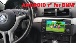 bMW E46 Магнитола андроид. Установка. Android DVD для BMW E46. Часть 1 Установка