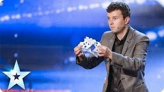 Chris Nicholson folds on stage | Britain's Got Talent 2014 thumbnail