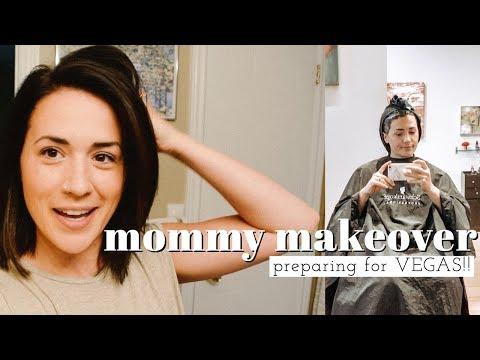 MOMMY MAKEOVER & VACATION PREP | Definitely Not A Beauty Guru | Ashley Hunt