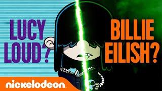 Lucy Loud Goes Full Billie Eilish 💀 Weird Edits: The Loud House Edition | Nick