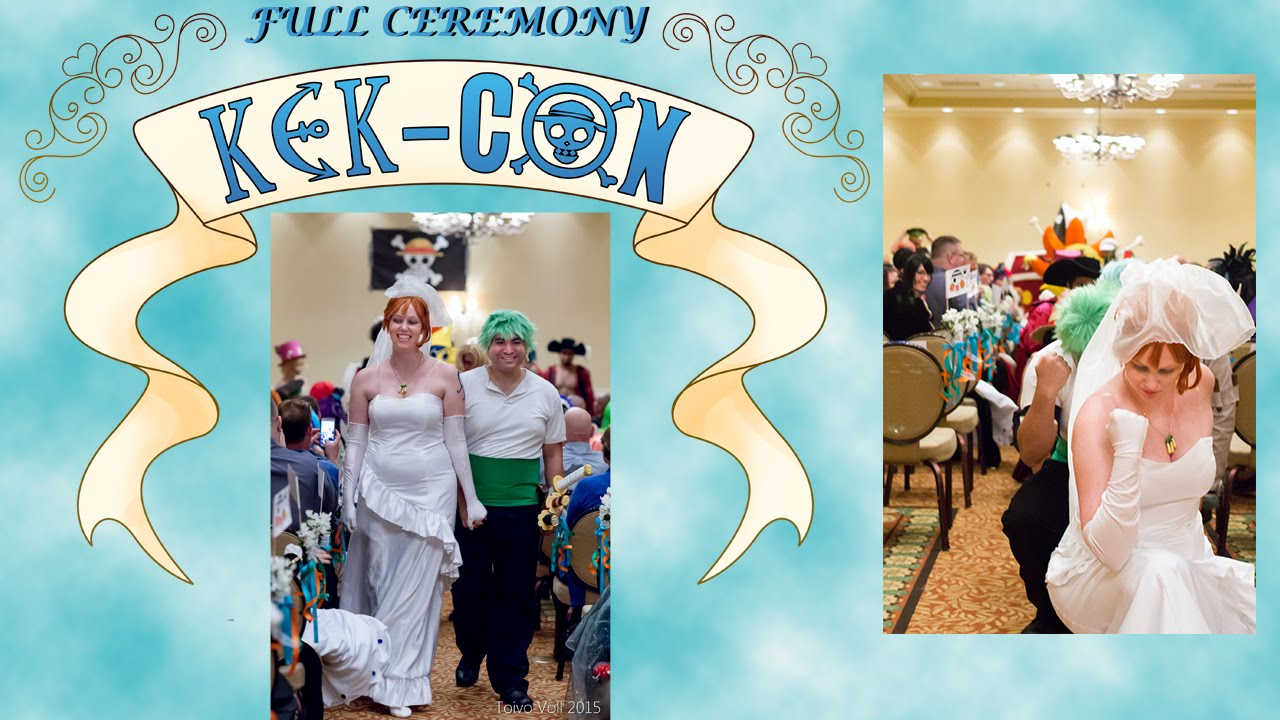 One Piece Wedding Full Ceremony Youtube