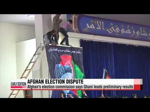 Afghan presidential election in dispute