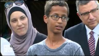 الطالب المسلم أحمد محمد ينوي زيارة البيت الأبيض