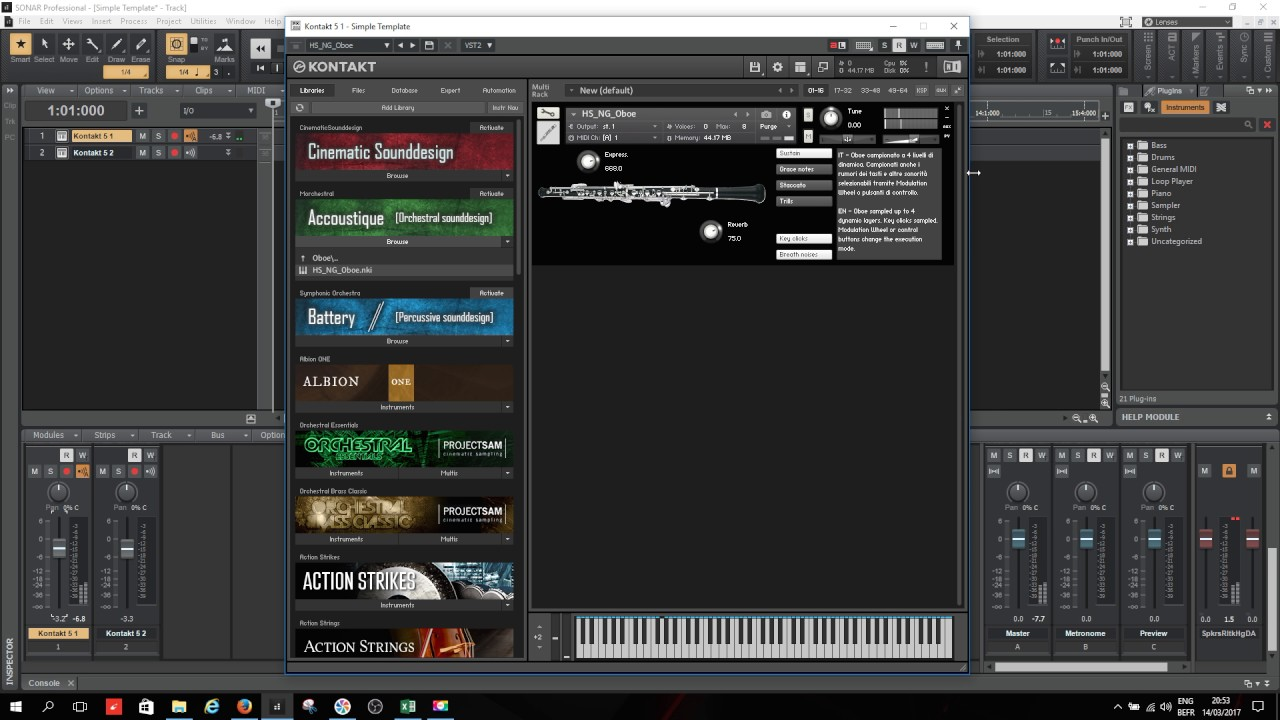 Hephaestus Sounds Oboe FREE kontakt library - With Loop Control - YouTube  for Musicians