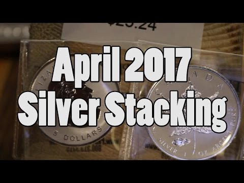 Help! it's my first silver stacking video. April 2017 Silver Stacking in 4K. Bing Err