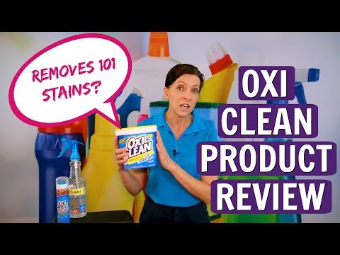 OxiClean Product Review