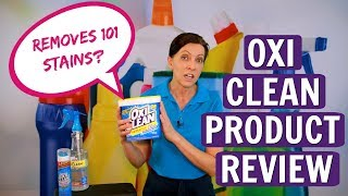 OxiClean Product Review - America's #1 Versatile Stain Fighter