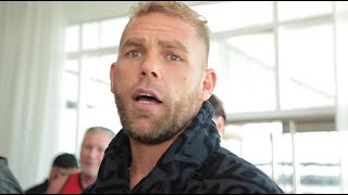 BILLY JOE SAUNDERS ON CANELO NO SHOW: 'I WAS PLAYING WITH MY BALLS'