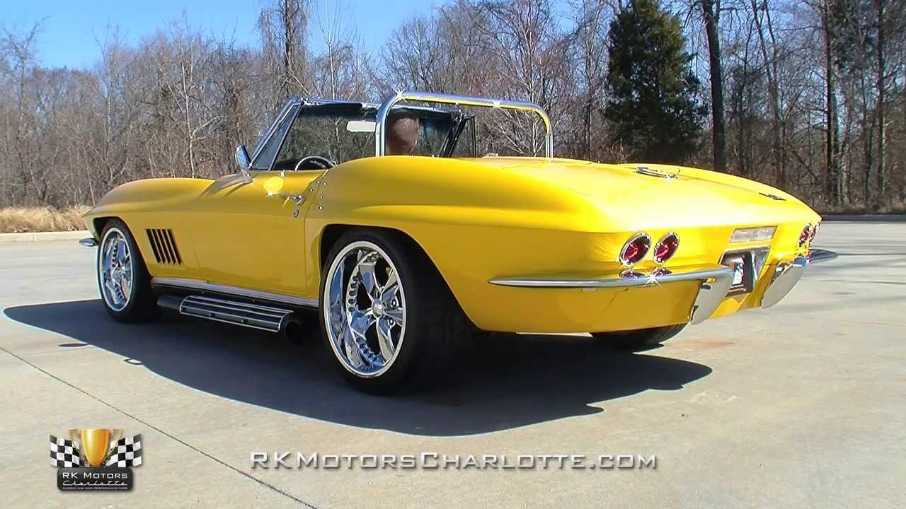 134684 1967 Chevrolet Corvette Sting Ray Youtube