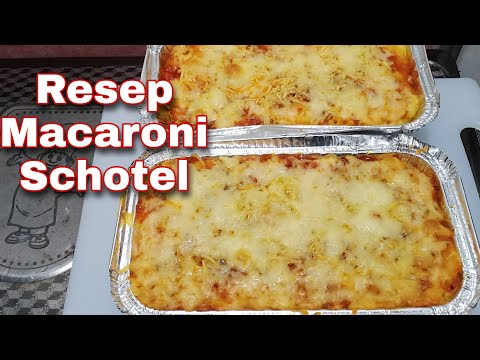 Resep Macaroni Schotel Super Mantul