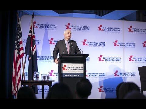 Senator John McCain's Alliance 21 Lecture
