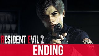 RESIDENT EVIL 2 REMAKE ENDING Gameplay Walkthrough Part 12 (Full Game)