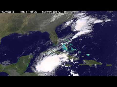 Hurricane Rina Headed to Mexico