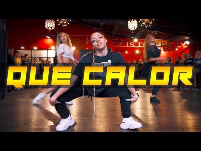 QUE CALOR by Major Lazer, J Balvin &  I Choreography by @NikaKljun