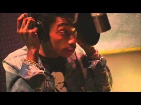 Learn How To Rap Like Wiz Khalifa!! Wiz Khalifa In The Studio...