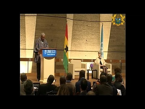 President John Mahama's Address to UNESCO