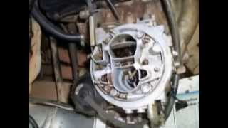 LIMPEZA DE CARBURADOR SEM DESMONTAR HOW TO CLEAN THE CARB CAR