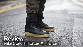 Nike Special Forces Air Force 1 'Black
