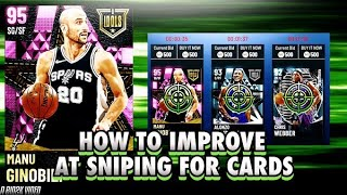 HOW TO IMPROVE AT SNIPING CARDS ON THE AUCTION HOUSE AND MAKING EASY MT! NBA 2K21 MYTEAM