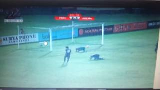 Gol gonzales Arema vs pusam bfc tgl 11 desember 2016 di samarinda