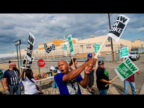 GM Auto Workers Strike for Power and to Protect Workers
