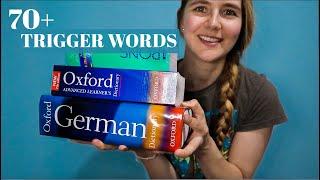 ASMR 70+ Trigger Words in 3 Languages