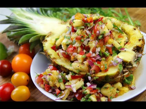 Outstanding  Pineapple Salsa Recipe   CaribbeanPot.com