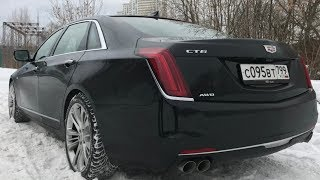 Взял Cadillac CT6 - оценил шестерку!