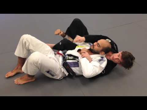 The Best Crucifix by Marcelo Garcia's Black Belt Joel Burgess