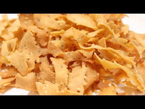 Ribbon Pakoda Recipe | ribbon murukku recipe | Chekka Pakodi