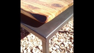 Make A Modern-rustic Table Top By Mitchell Dillman